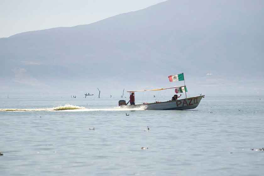 Boating on Lake Chapala